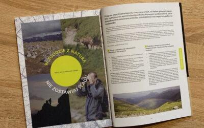 Artykuł o Leave No Trace w CRAG Magazine